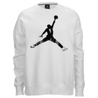 Jordan Retro 11 Black Tie Fleece Crew - Men's at Foot Locker