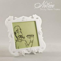 Supermarket - Notice - Sticky Note Frame (White) from Relative Design