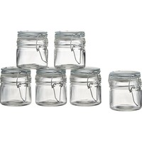 Mini Spice Jars with Clamp (Set of 6)