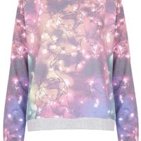 Fairy Lights Loungewear Top - Topshop USA