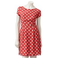 LC Lauren Conrad Polka-Dot Dress