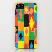 Elementary Diamonds. iPhone & iPod Case by Nick Nelson