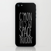 space truckin' iPhone & iPod Skin by karen owens
