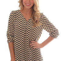 Riffraff | must have zig zag tunic