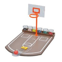 EZ Drinker Shot Basketball Bar Toy and Drinking Game