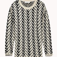 Chunky Chevron Sweater