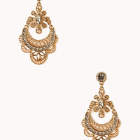 Regal Filigree Chandelier Earrings