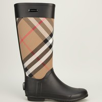 Burberry London 'house' Check Rain Boot - Biondini - Farfetch.com