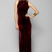 MINKPINK There She Goes Velvet Maxi Dress - Urban Outfitters
