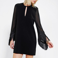 Little White Lies Talihta Fringe Dress - Urban Outfitters