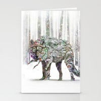 Winter Wonder Dog Stationery Cards by Ben Geiger