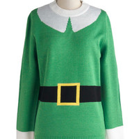 Elf Respect Sweater | Mod Retro Vintage Sweaters | ModCloth.com