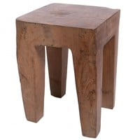 Wooden Charm Side Table