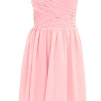 Dressystar Junior Bridesmaid Dress Short Formal Evening Dress