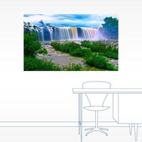 Dreamy Waterfall Landscape Wall Decal