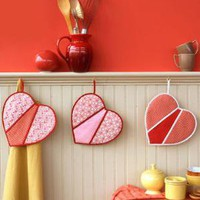 Heart-Shaped Pot Holders - Introduction - MarthaStewart.com