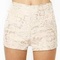 Gold Blush Tap Shorts