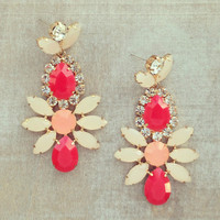 Pree Brulee - Tiramisu Earrings