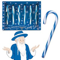 Hanukkah Candy Canes - Whimsical & Unique Gift Ideas for the Coolest Gift Givers