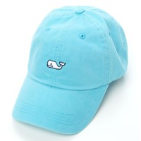Vineyard Vines Whale Logo Baseball Hat - Aqua Blue