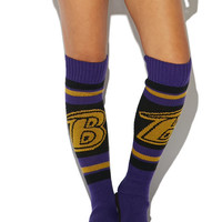 Ravens Knee Slipper Sock | Wet Seal