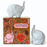 Jonathan Adler Elephants Salt And Pepper in Wedding Gifts