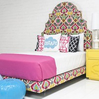 www.roomservicestore.com - Marrakesh Bed in Floral Damask