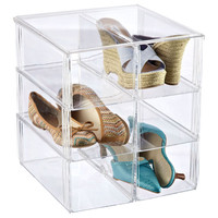 The Container Store > Premium Stacking Shoe Bin