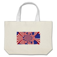 I Love The United States Canvas Bag