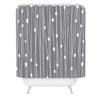 DENY Designs Home Accessories | Heather Dutton Gray Entangled Shower Curtain