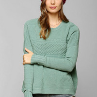 Staring At Stars Mixed-Stitch Sweater - Urban Outfitters