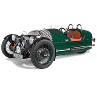 The Authentic Morgan Three-Wheeler - Hammacher Schlemmer