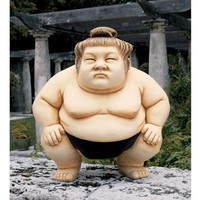 Basho the Sumo Wrestler Sculpture - DB4300                    - Design Toscano