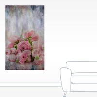 Vintage Roses Wall Decal