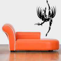 Wall Decal Vinyl Sticker Room Tattoo Decor Abstract Ballet Modern Dancer 1351
