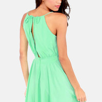 Lucy Love Penelope Mint Green Dress