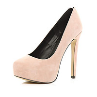 LIGHT PINK ZIP BACK COURT SHOES