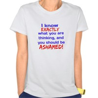 """I know what you're thinking..."" Tee Shirt"