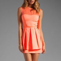Nanette Lepore Lightshow Dress in Coral