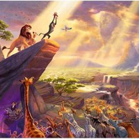 "Disney Dreams Art - Lion King Classic 12""x16"" Save $25"
