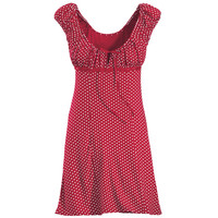 Gigi Polka Dot Dress - New Age, Spiritual Gifts, Yoga, Wicca, Gothic, Reiki, Celtic, Crystal, Tarot at Pyramid Collection