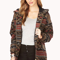 On The Range Southwestern Print Coat