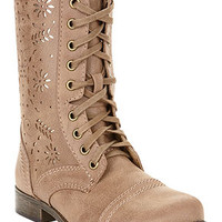 Rampage Joiner Lace Up Perforated Booties