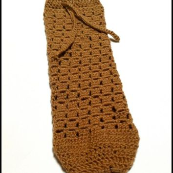 Crocheted Plastic Bag Holder