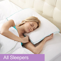 BioSense 2™ Classic Pillow for All Sleepers at Brookstone—Buy Now!