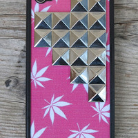 Pink Buddy Silver Pyramid Case | Wildflower cases