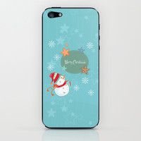 Merry Christmas iPhone & iPod Skin by MadTee