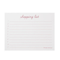 Shopping List Sticky Note