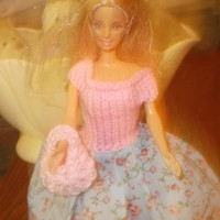 Handmade Outfit for Barbie Doll    FREE DELIVERY UK   nannycheryl original-1038