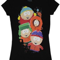 The Boys - South Park Sheer Women's T-shirt